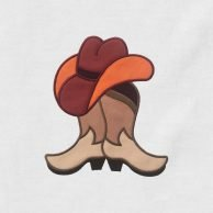 Cowboy_Boots_And_Hat