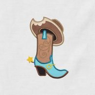 Cowgirl_Boots_And_Hat